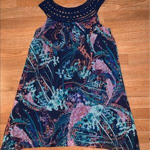 Soma handkerchief watercolor dress